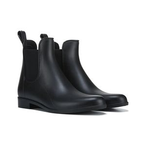 Cougar celeste black women's Chelsea Rain boots-11